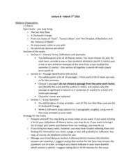 ENG 1120 Lecture Notes - Lecture 8: The Bachelors, Vivarium Inc., Decanter