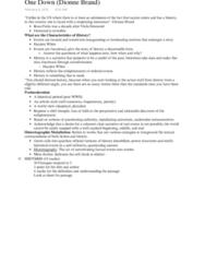 ENG 1120 Lecture Notes - Lecture 8: Viola Desmond, Dionne Brand, Endangerment