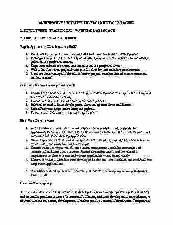 isa-387-lecture-10-alternative-development-methods-1