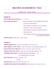 Economics 1022A/B Study Guide - Final Guide: Aggregate Demand, Monetary Base, Chapter 27