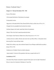HIST 101 Chapter Notes - Chapter 18: Francisco I. Madero, Peon, Hacienda