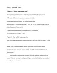 HIST 101 Chapter Notes - Chapter 18: Light Skin, Carl Linnaeus