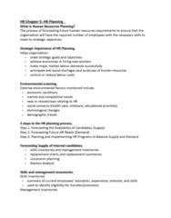 HROB 2100 Study Guide - Final Guide: Nominal Group Technique, Markov Chain, Shortage