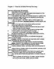 POLSCI 2J03 Chapter Notes - Chapter 1: World Trade Organization, Friedrich Hayek, Immanuel Kant