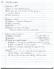 SOCY 203 Lecture Notes - Lecture 16: Viol