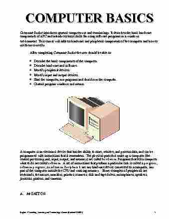 cis-101-lecture-3-computer-basics