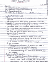 SOC244H5 Quiz: SOC244 - Sociology of Families Test 2 Notes