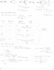 MECH ENG 300000 Final: Crib Sheet Final Exam