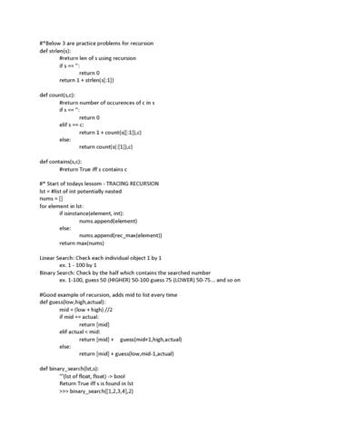 csc148h5-lecture-13-02-01-16-monday-lec-13-tracing-recursion