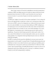 CMN 1560 Lecture Notes - Lecture 6: Le Monde