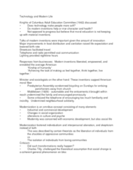 SOC356Y1 Lecture Notes - Lecture 5: Modern Inventions, Charlton Ogburn, Change Impact Analysis