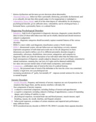 PSYCO105 Chapter Notes - Chapter 13: Obsessive–Compulsive Disorder, Twin, Anxiety Disorder