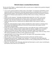MICB 201 Chapter Notes - Chapter 7: Heterotroph, Prokaryote, Lithotroph