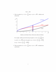MATH 203 Lecture Notes - Lecture 1: Binary Logarithm