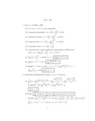 MATH 203 Lecture Notes - Lecture 4: Compound Interest