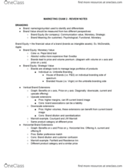 MKTG-UB 1 Study Guide - Final Guide: Email Marketing, Specific Performance, Merchandising