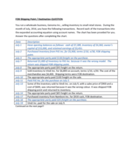 ACC 100 Study Guide - Midterm Guide: Gross Profit, Income Statement, Historical Cost