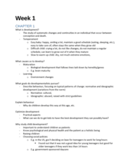 PSY302 Lecture Notes - Lecture 1: Developmental Psychology, Methylation, Epigenetics