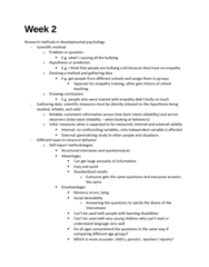 PSY302 Lecture Notes - Lecture 2: Informed Consent, Brain Damage, Donald O. Hebb