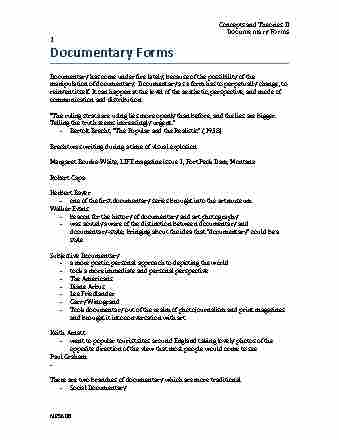 mps-608-lecture-4-4-documentary-forms