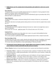HROB 2100 Study Guide - Midterm Guide: Brie, Employer Branding, Ob River