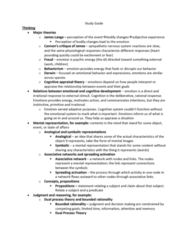 PSY BEH 11B Study Guide - Midterm Guide: Relate, Inductive Reasoning, Dual Process Theory