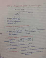 MECH 262 Lecture Notes - Lecture 5: Pressure Sensor, Environmental Noise, Thermocouple