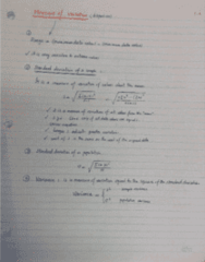 MECH 262 Lecture Notes - Lecture 2: Variance, Standard Deviation, Tral
