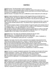 MECH 262 Study Guide - Final Guide: Bias Of An Estimator, Ammeter, Radar Gun