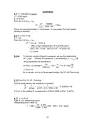 MECH 262 Study Guide - Final Guide: Pressure Measurement