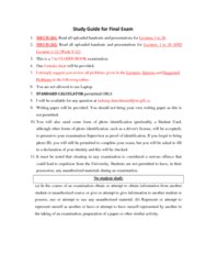 MECH 262 Study Guide - Final Guide: Mcleod Gauge, Wheatstone Bridge, Lagrange Polynomial