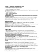 PSY 1102 Study Guide - Midterm Guide: Fetal Alcohol Spectrum Disorder, Prenatal Development, Mental Age