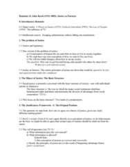 PHIL 2923 Lecture Notes - Lecture 16: Well-Order, Political Liberalism