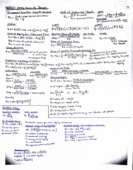 COMMERCE 3FA3 Final: Formula Sheet