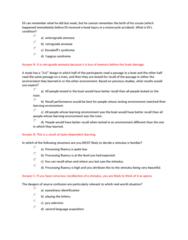 PSYB57H3 Study Guide - Quiz Guide: Episodic Memory, Reca, Retrograde Amnesia