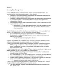 CRM/LAW C115 Study Guide - Midterm Guide: Mug Shot, De Jure, White Trash