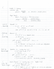 STAT333 Study Guide - Midterm Guide: Conditional Expectation, Fxx