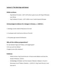 CLCIV 101 Lecture 5: Lecture 5