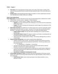 PSYB57H3 Study Guide - Final Guide: Coding Theory, Sensory System, Symmetry In Biology