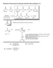 CHEM 22200 Lecture Notes - Lecture 4: Acetic Acid, Benzene, Transesterification