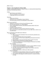 HKIN 215 Lecture Notes - Lecture 1: Escalator, Fine Motor Skill, Slapshot
