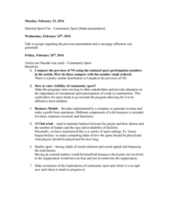 HKIN 241 Lecture Notes - Lecture 8: Social Capital, External Auditor, Moodle