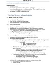 COMMERCE 2MA3 Chapter 2: 2MA3 - Chp 2