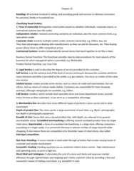 COMMERCE 2MA3 Chapter Notes - Chapter 15: Telemarketing, Warehouse Club, Corporate Social Responsibility