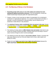 BUS 272 Chapter Notes - Chapter 6: Liquid Oxygen, Ion, Merit Pay