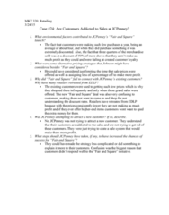 ECO 211 Chapter Notes - Chapter 24: J. C. Penney