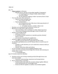 WMST 101 Lecture Notes - Lecture 1: See No Evil, Hear No Evil, David M. Halperin, Giorgio Agamben
