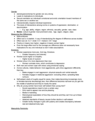PSYC 305 Lecture Notes - Lecture 8: Kinsey Scale, Social Learning Theory, Gender Dysphoria