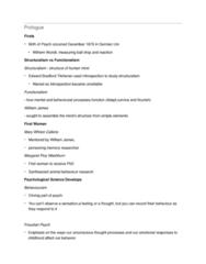 PSYC 102 Chapter Notes - Chapter 0: Margaret Floy Washburn, Mary Whiton Calkins, Edward B. Titchener