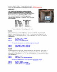 International Business INB345 Study Guide - Midterm Guide: Intermodal Container, Freight Forwarder, Cubic Foot